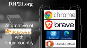 Top 10  Alternatives Of UC Browser